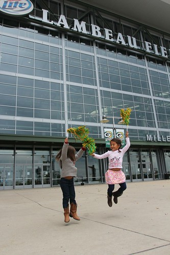 Day 48: Tour of Lambeau Field in Green Bay, Wisconsin.