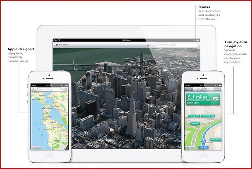 iOS6 - Map take a whole new turn