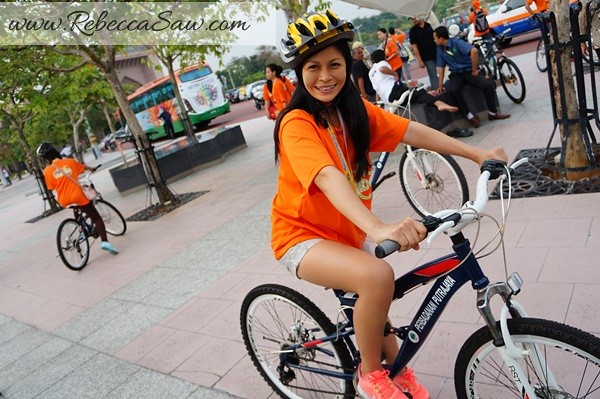 Malaysia Tourism Hunt 2012 - bicycle rent - riding