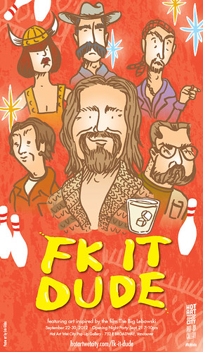 Fk It Dude Poster