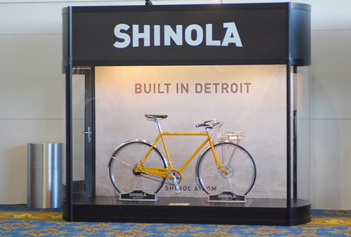 Shinola Cycles Interbike Display