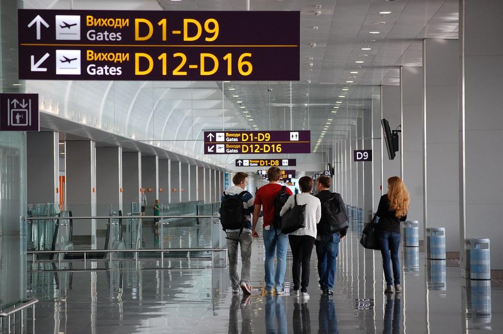 В аэропорту Киева Борисполь