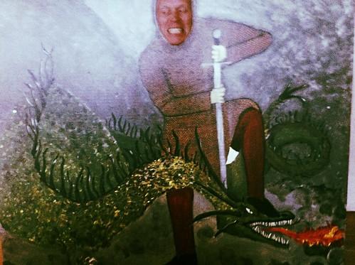 Lohikäärme ja ritari by Anna Amnell