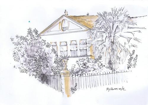 2012-09 Palácio na rua do Eborim (frente aos Celeiros)