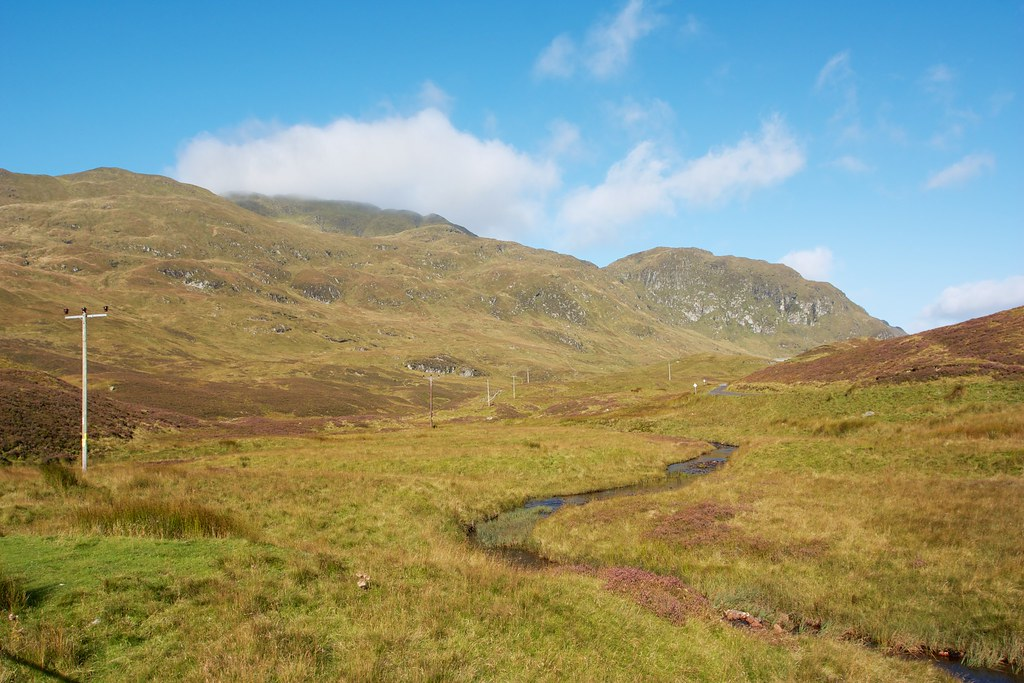Early cloud over Meall nan Tarmachan