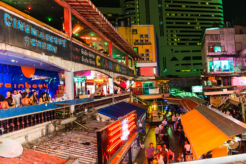 Bangkok Nightlife by CamelKW
