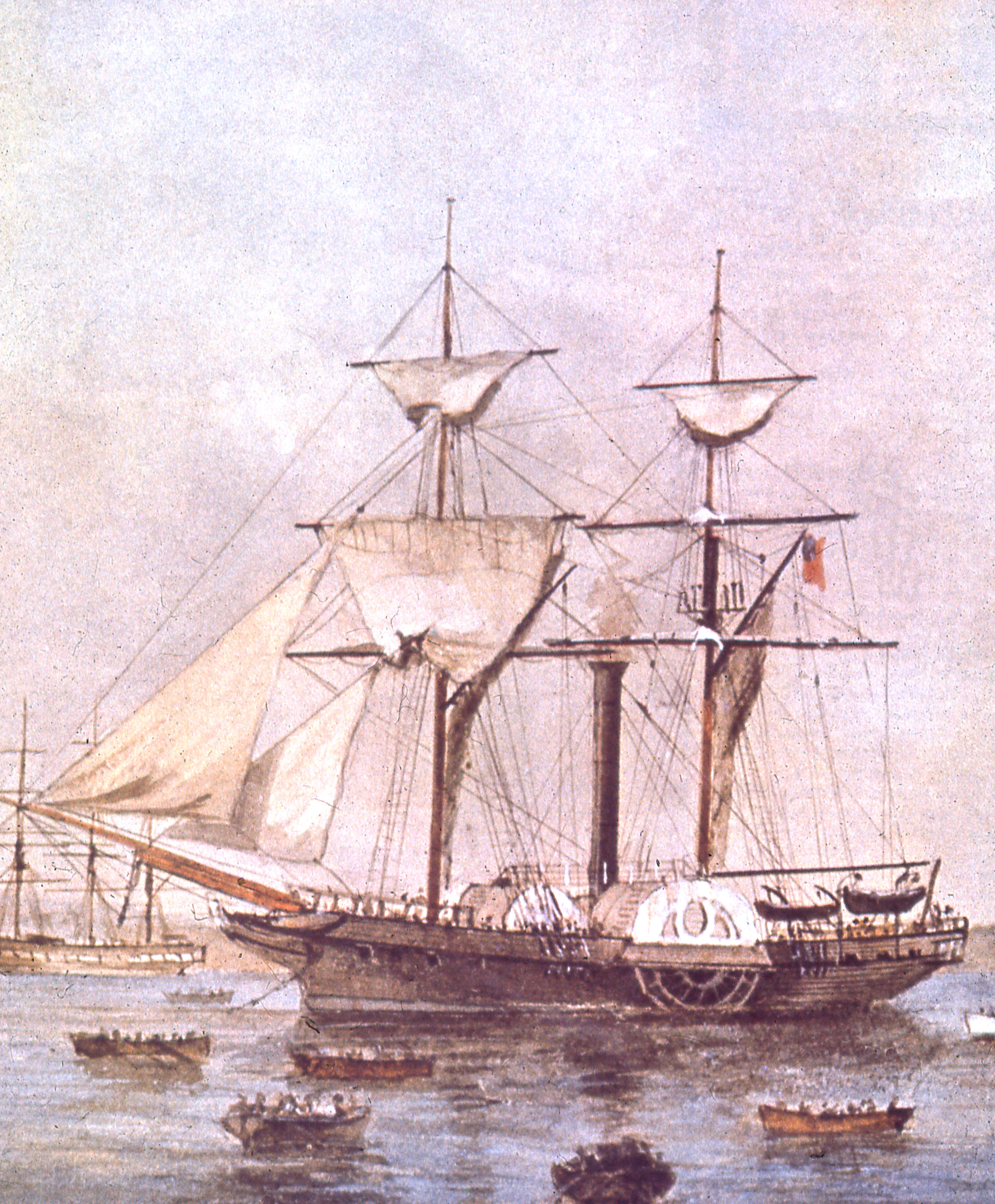 Early Steamships (1831 - 1845)