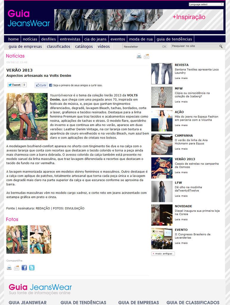 a08edf093 Guia Jeanswear 09/08/2012 | StatusCom Assessoria | Flickr
