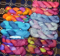 Sock yarn - bfl