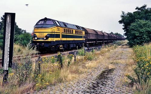 5160 met de zouttrein Hengelo naar Tessenderlo.