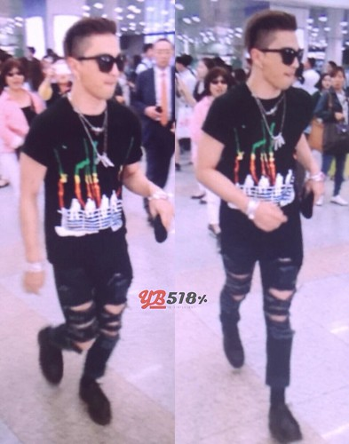 Big Bang - Gimpo Airport - 20may2015 - Tae Yang - YB 518 - 02