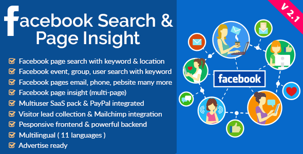 Facebook Search Engine - Lead Collector & SaaS