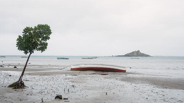 Low tide - Rodrigues Island