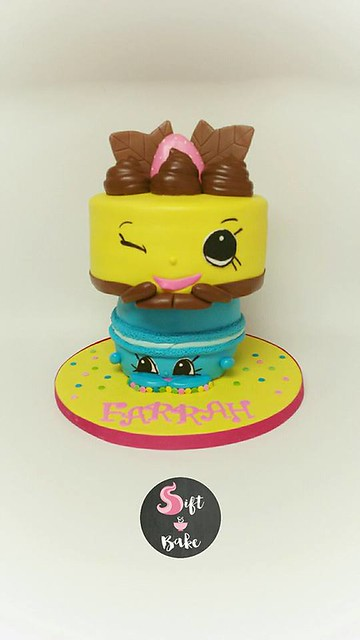 Shopkins Themed Cake by Rizzie Ritz of Sift & Bake