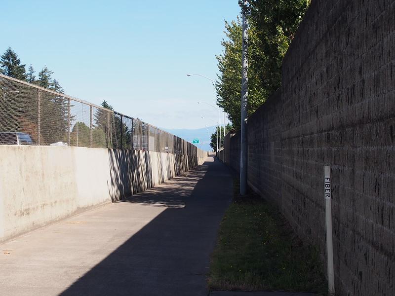 I-84 Trail: Basically a bicycle sewer, like how I-84 is a car sewer.