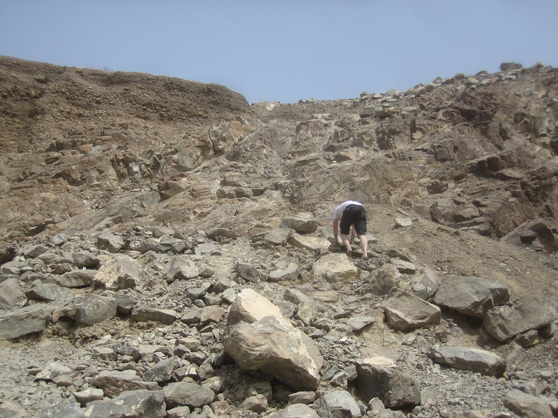 Wadi Climbing Dubai United Arab Emirates