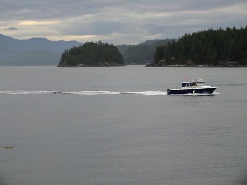 shuttleboot naar April Point