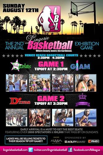 Lingerie Basketball Venice Beach