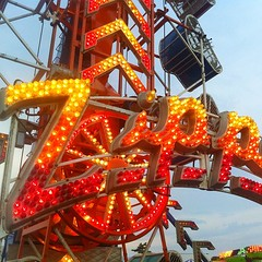 recreation(0.0), outdoor recreation(0.0), park(0.0), roller coaster(0.0), fair(1.0), amusement ride(1.0), amusement park(1.0),