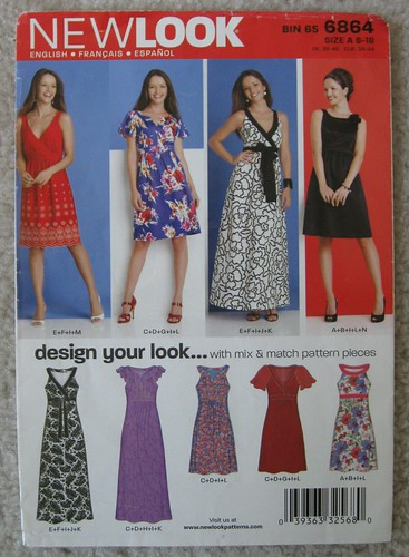 New Look 6864 pattern