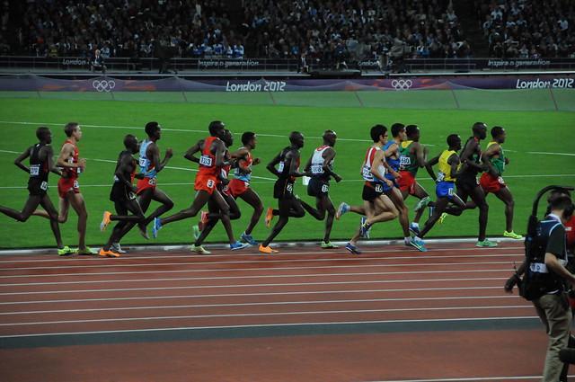 Course du 10000m aux JO Londres