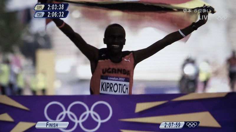 London 2012 Olympic Marathon S.Kiprotich