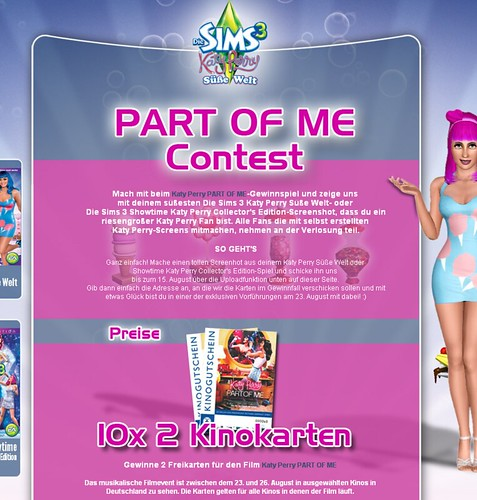 Katy Perry Contest