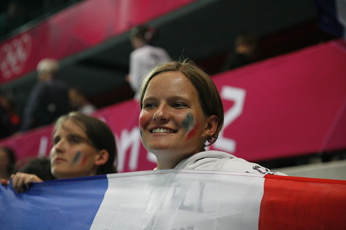 London 2012 - French handball supporter