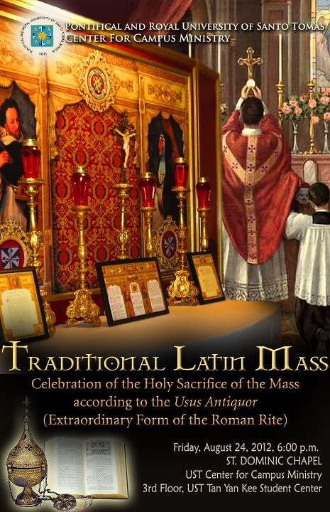 CATHOLICVS-Anuncio-Santa-Misa-Manila-Holy-Mass-Announcement
