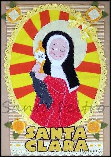"""""""Santa Clara, ilumina os passos Daqueles que buscam a claridade!"""" by edilmarasantiago"""