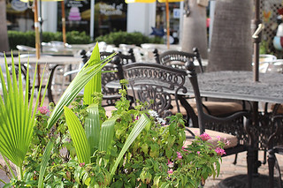 Patio Seating, Word of Mouth, Sarasota, FL
