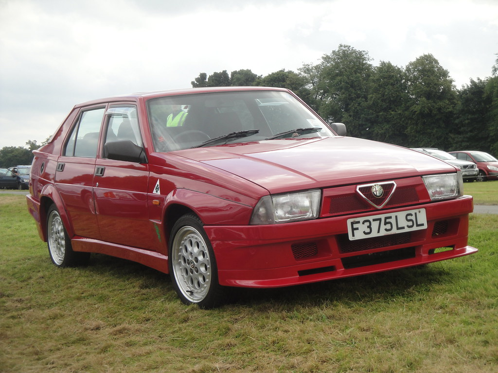 1988 alfa romeo 75 - partsopen