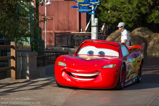 Disneyland july 2012 cars land first thing in the morning