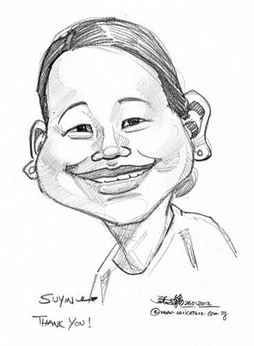 caricature in pencil - 4