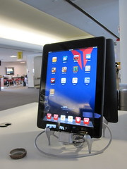 iPads in the airport