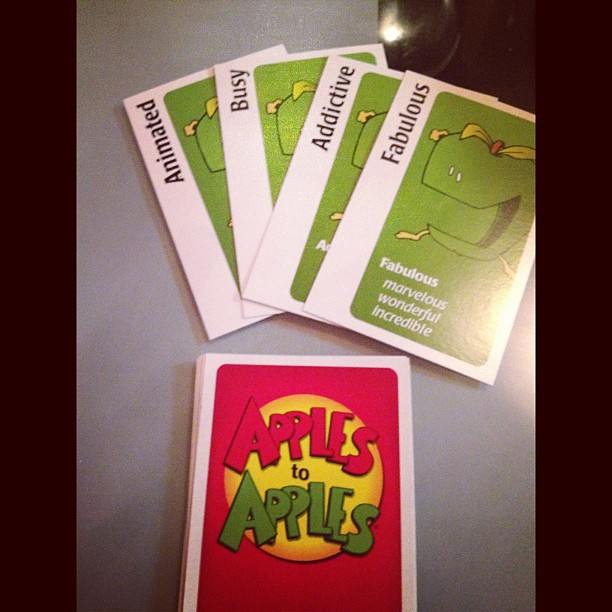 I would say these words describe me quite well #ApplestoApples