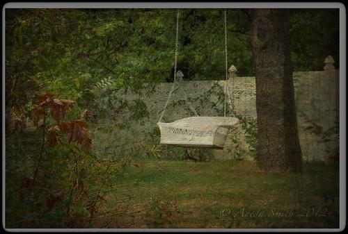 yard outdoors swing textures wicker porchswing treeswing nikond90 mcalesterok kerstinfrank anedasmith