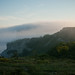 Fog flowing over the lighthouse area by neekoh.fi