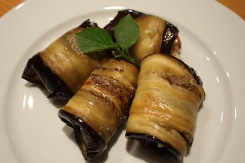 Aubergine & Parmesan Wrap