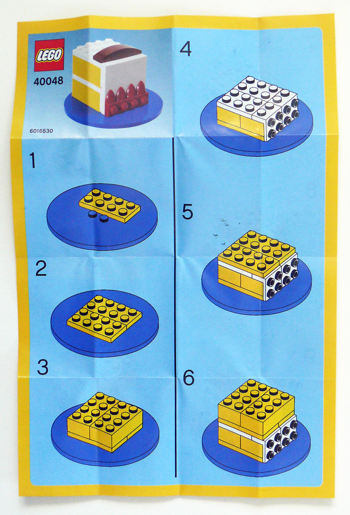 40048 Birthday Cake Instructions P1