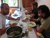 pranzetto a casa con gli amici