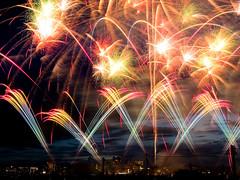 [免费图片素材] 背景, 火・火焰, 烟火, 景观 - 日本 ID:201208260400
