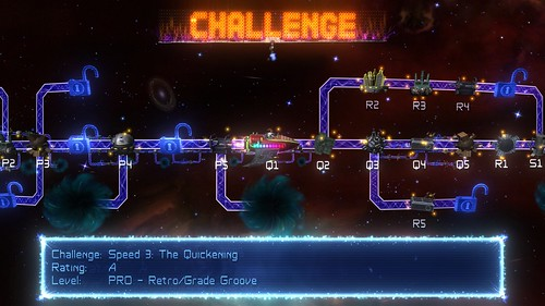 Retro/Grade on PSN - Challenge Mode