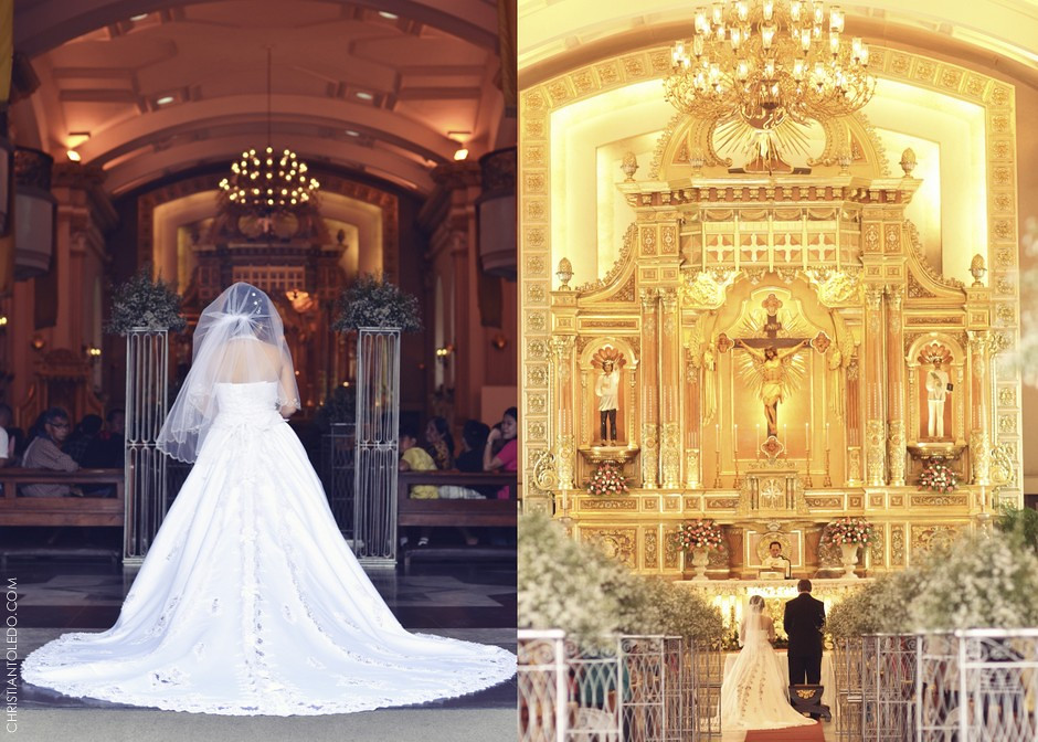 Cebu Cathedral Church Wedding, Cebu Wedding Photo