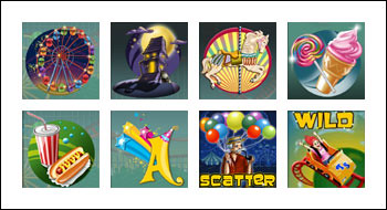 free Thrill Spin slot game symbols