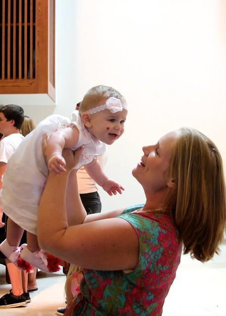 Scarlett's Baptism July 2012 4