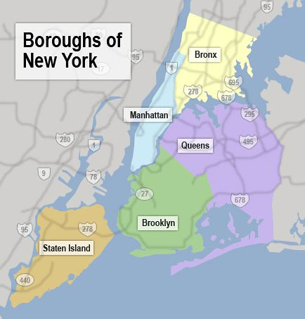 nyc-boroughs-map by trudeau