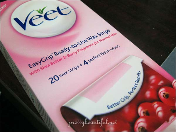 Veet Easy Grip Ready to Use Wax Strips
