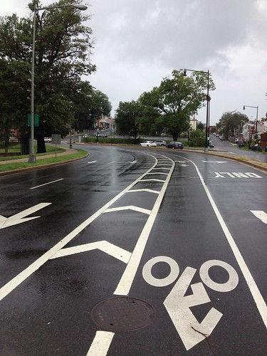 Buffered Bike lane - 5th Street NE