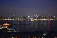 NYC Skyline from Weehawken, NJ #1